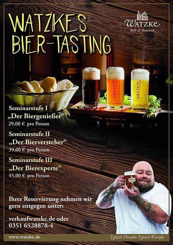 Watzkes Bier-Tasting