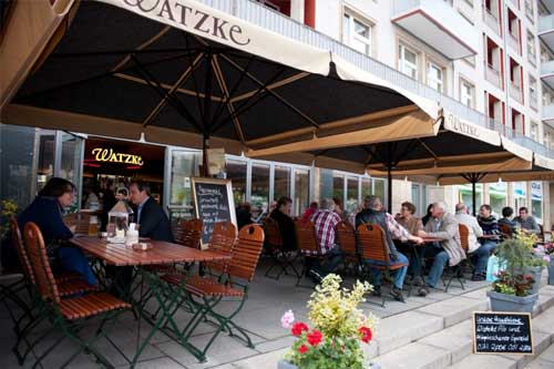 Watzke am Ring Dresden - Terrasse